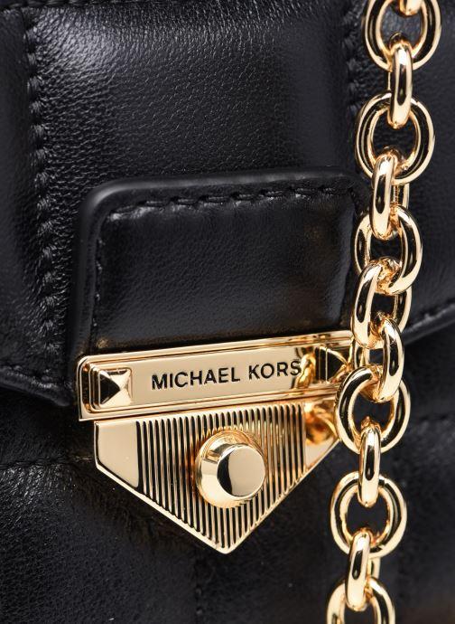 Bolsos de mano Michael Michael Kors SOHO SM CHAIN SHLDR Negro vista lateral izquierda