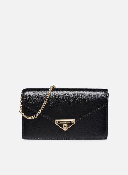 Handtaschen Michael Michael Kors GRACE MD ENVELOPE CLUTCH schwarz detaillierte ansicht/modell