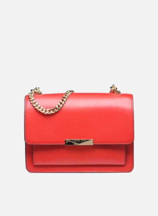 Bolsos de mano Michael Michael Kors LG GUSSET SHLDR Rojo vista de detalle / par