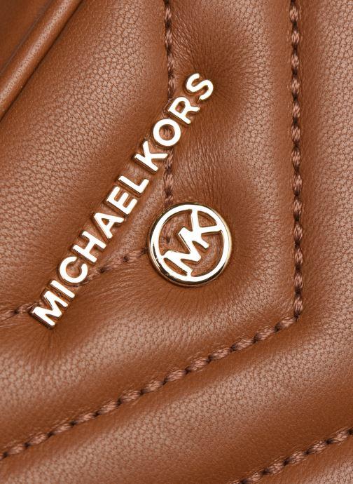 Bolsos de mano Michael Michael Kors JET SET CHARM MD CAMERA BAG Marrón vista lateral izquierda