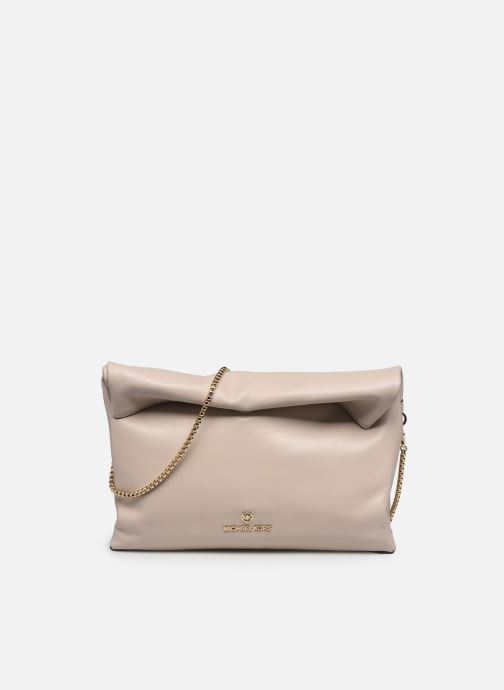 Bolsos de mano Michael Michael Kors LOLA LG LUNCH BAG XBODY Rosa vista de detalle / par