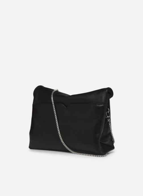 Borse Michael Michael Kors LOLA LG LUNCH BAG XBODY Nero immagine destra