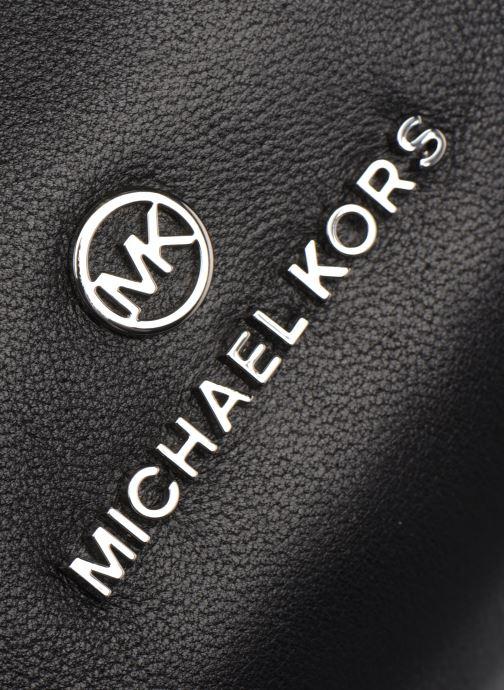 Borse Michael Michael Kors LOLA LG LUNCH BAG XBODY Nero immagine sinistra