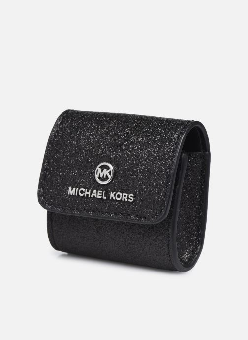 Marroquinería pequeña Michael Michael Kors TRAVEL ACCESSORIES CLIPCASE FOR AIRPODS Negro vista del modelo