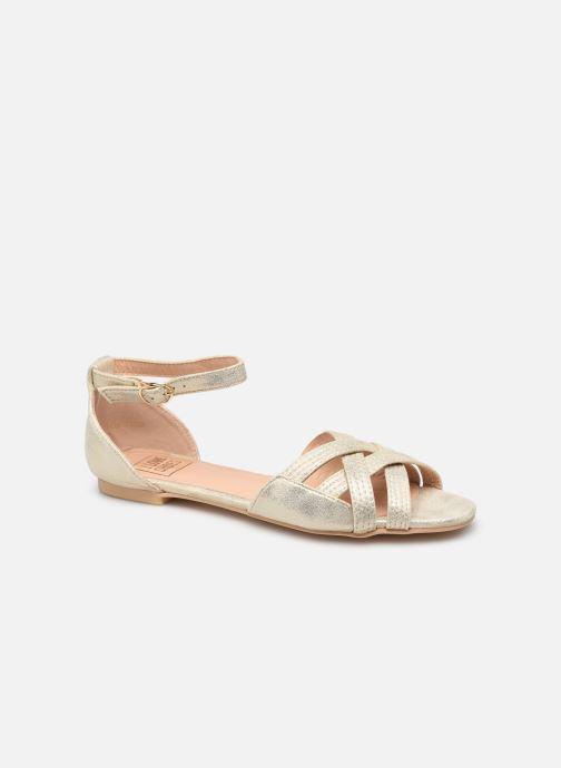 Sandalias I Love Shoes CAMELEON Oro y bronce vista de detalle / par