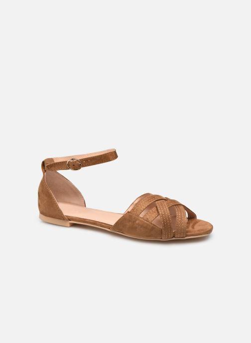 Sandalen I Love Shoes CAMELEON braun detaillierte ansicht/modell