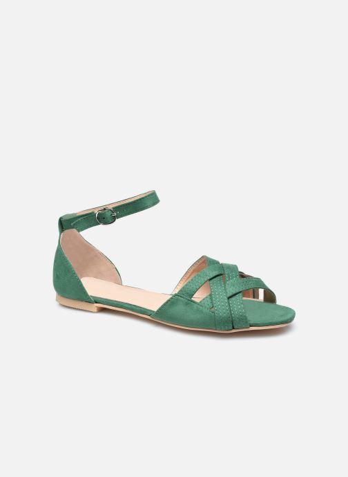 Sandales et nu-pieds I Love Shoes CAMELEON Vert vue détail/paire
