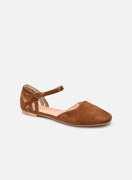Sandalen I Love Shoes CAMELIA braun detaillierte ansicht/modell