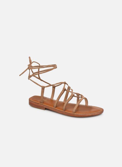 Sandalen L'Atelier Tropézien SH367 braun detaillierte ansicht/modell