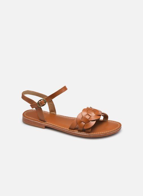 Sandales et nu-pieds L'Atelier Tropézien SH317 Marron vue détail/paire