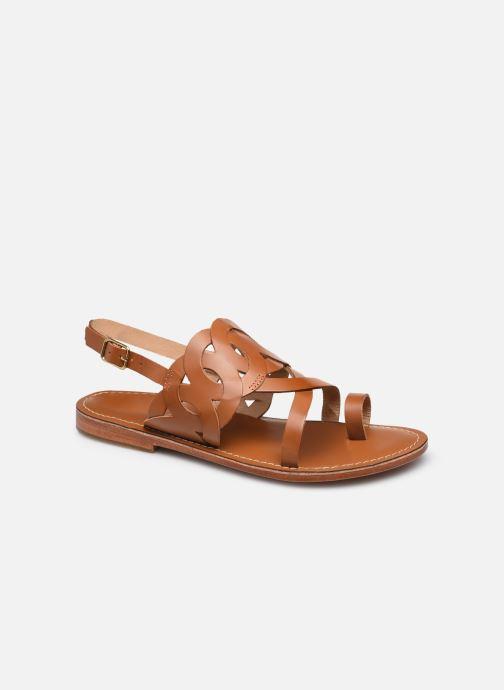 Sandales et nu-pieds L'Atelier Tropézien SH310 Marron vue détail/paire