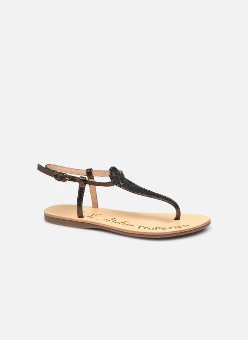 Sandales et nu-pieds L'Atelier Tropézien SH348 Noir vue détail/paire