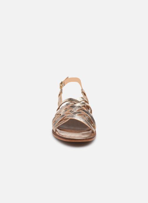Sandalen L'Atelier Tropézien IL205 gold/bronze schuhe getragen
