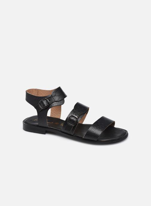 Sandales et nu-pieds L'Atelier Tropézien IL2018 Noir vue détail/paire