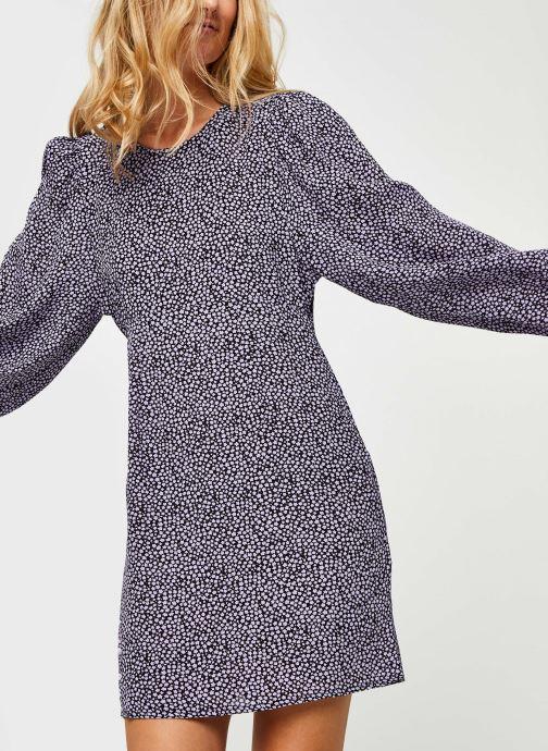 Vêtements Bizance Paris Cathy Violet vue détail/paire