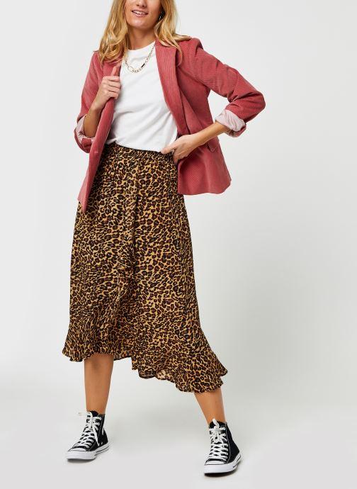 Vêtements Bizance Paris Christy Marron vue bas / vue portée sac