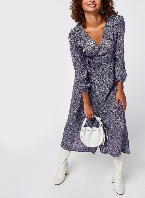 Vêtements Bizance Paris CARRIE Violet vue bas / vue portée sac