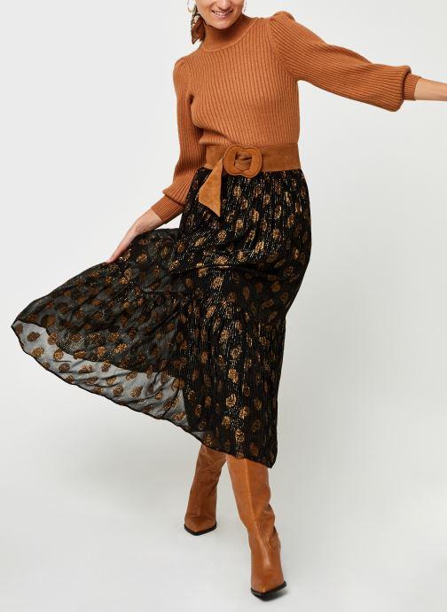 Vêtements Bizance Paris Cybille Noir vue bas / vue portée sac