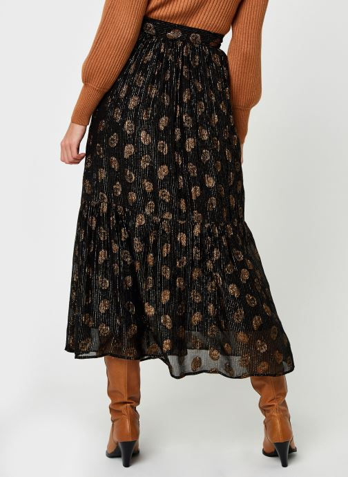 Vêtements Bizance Paris Cybille Noir vue portées chaussures