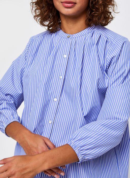 Vêtements Bizance Paris Cory Bleu vue face