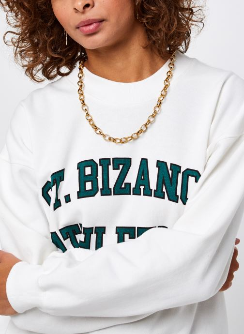 Vêtements Bizance Paris Cloud Blanc vue face