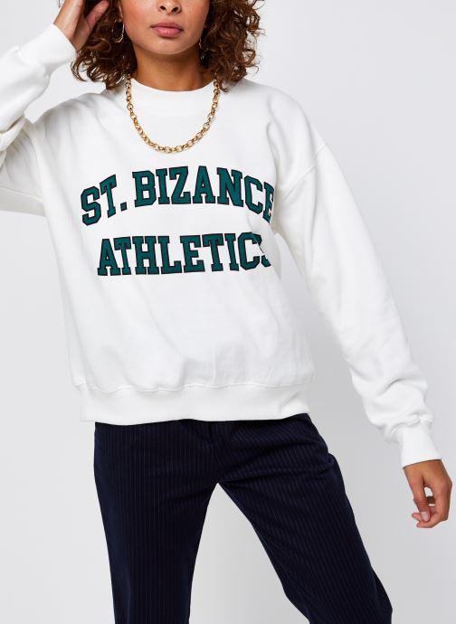 Vêtements Bizance Paris Cloud Blanc vue droite