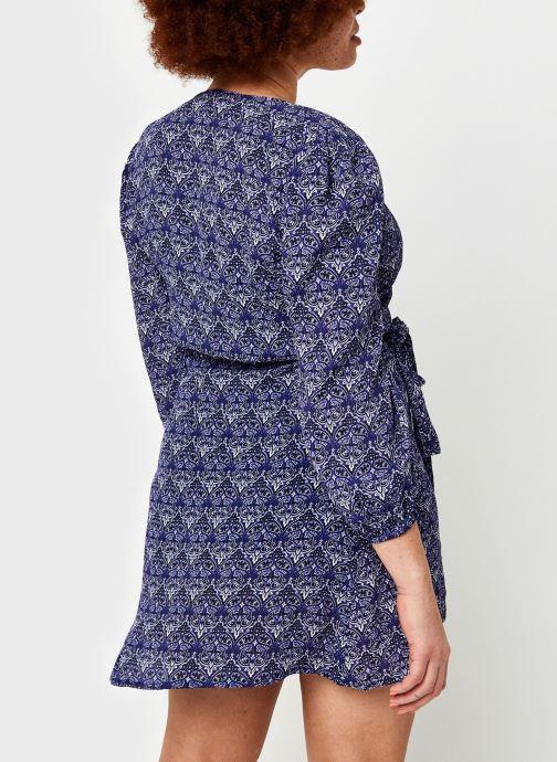 Vêtements Bizance Paris Cara Bleu vue portées chaussures
