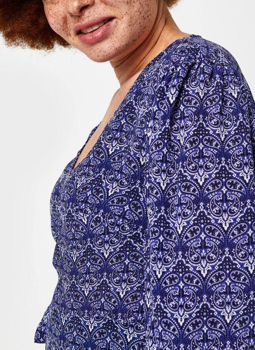 Vêtements Bizance Paris Cara Bleu vue face