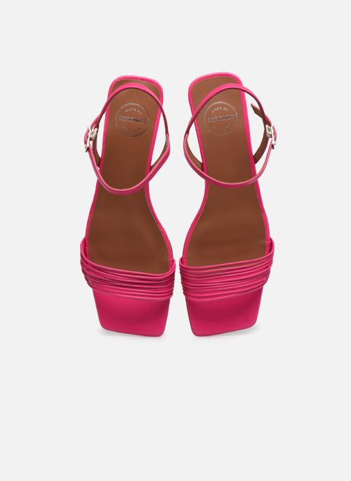 Sandalen Made by SARENZA Exotic Vibes Sandales Plates #2 rosa schuhe getragen