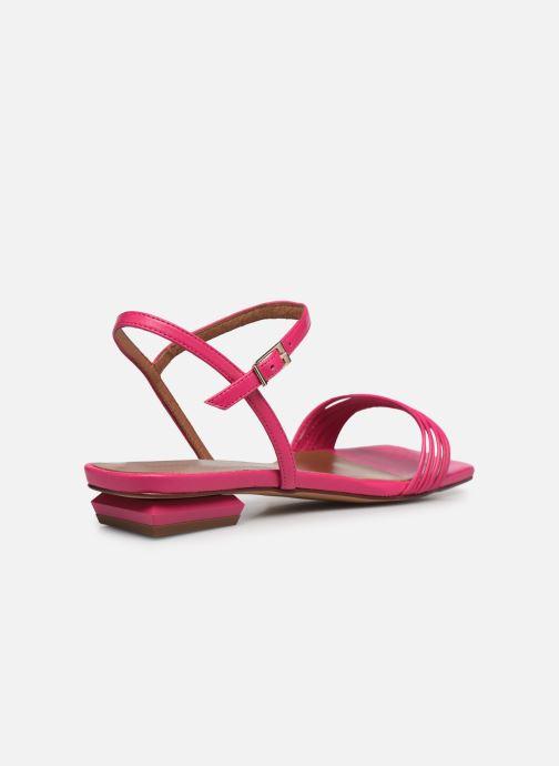 Sandalen Made by SARENZA Exotic Vibes Sandales Plates #2 rosa ansicht von vorne