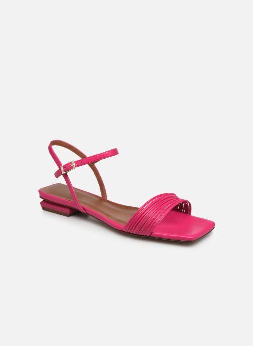 Sandalen Made by SARENZA Exotic Vibes Sandales Plates #2 rosa ansicht von rechts