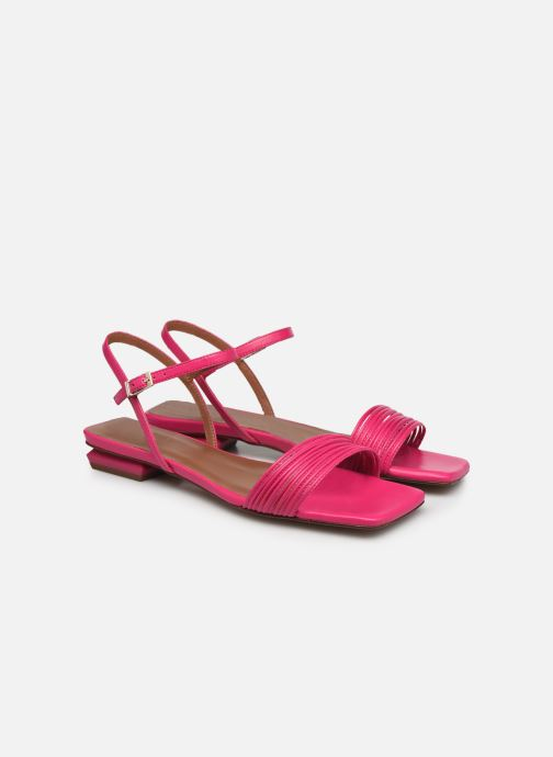 Sandalen Made by SARENZA Exotic Vibes Sandales Plates #2 rosa ansicht von hinten