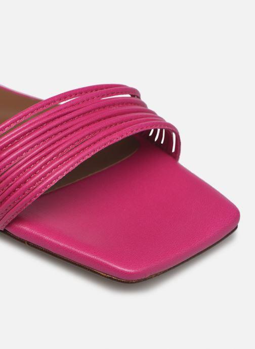 Sandalen Made by SARENZA Exotic Vibes Sandales Plates #2 rosa ansicht von links
