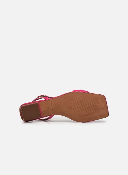 Sandalen Made by SARENZA Exotic Vibes Sandales Plates #2 rosa ansicht von oben
