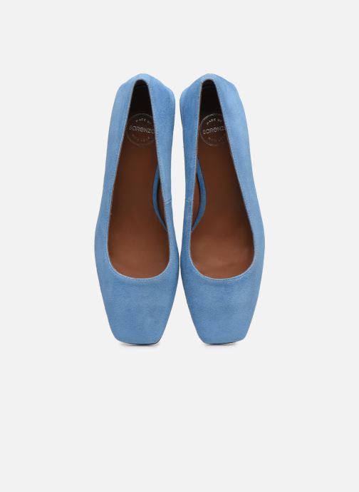 Pumps Made by SARENZA Exotic Vibes Escarpins #5 blau schuhe getragen