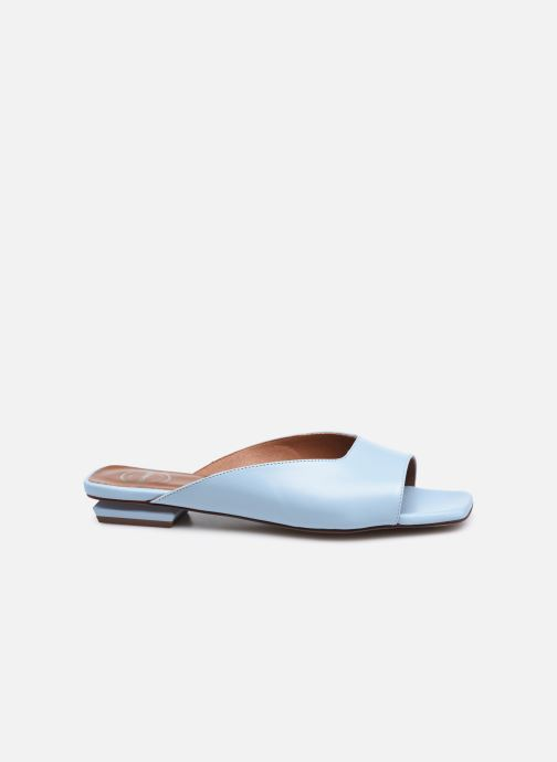 Zuecos Made by SARENZA Pastel Summer Mules #1 Azul vista de detalle / par