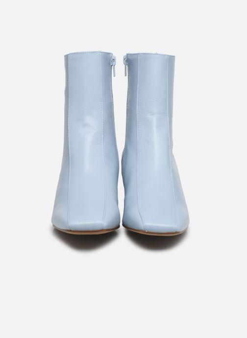 Stivaletti e tronchetti Made by SARENZA Minimal Summer Boots #1 Azzurro modello indossato