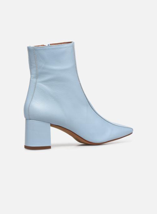 Stivaletti e tronchetti Made by SARENZA Minimal Summer Boots #1 Azzurro immagine frontale