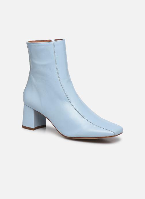 Stivaletti e tronchetti Made by SARENZA Minimal Summer Boots #1 Azzurro immagine destra
