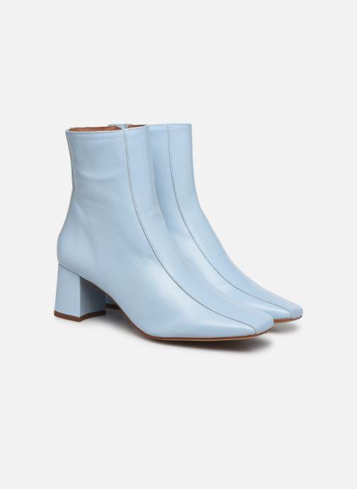 Stivaletti e tronchetti Made by SARENZA Minimal Summer Boots #1 Azzurro immagine posteriore