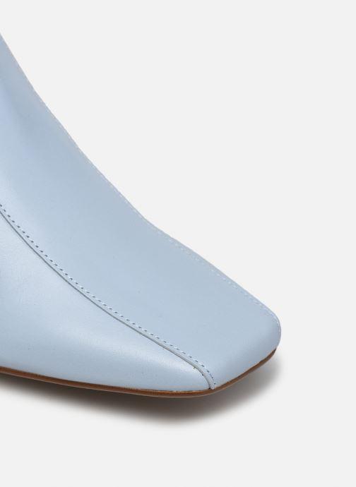 Stivaletti e tronchetti Made by SARENZA Minimal Summer Boots #1 Azzurro immagine sinistra