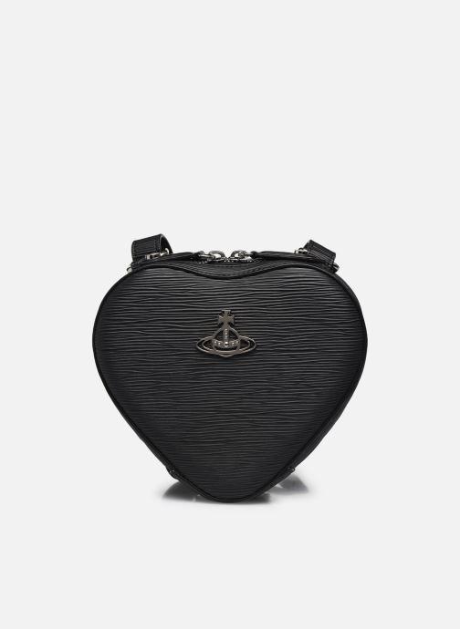 Rucksäcke Vivienne Westwood Polly Heart Mini Backpack schwarz detaillierte ansicht/modell