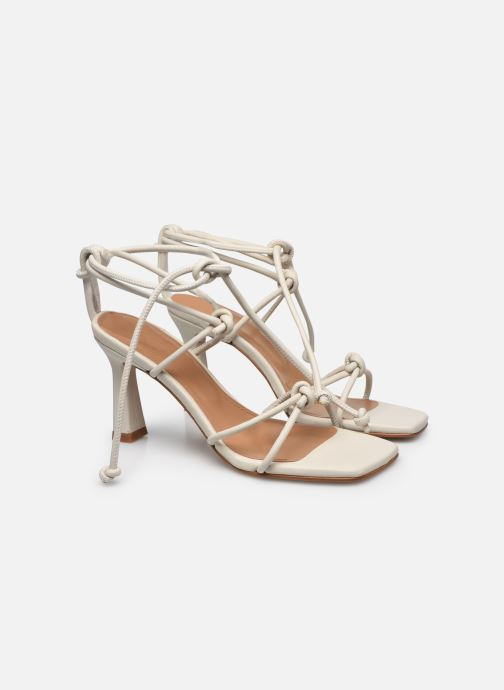 Sandali e scarpe aperte Flattered Rachel Bianco immagine 3/4