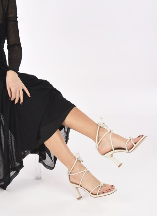 Sandali e scarpe aperte Flattered Rachel Bianco immagine dal basso