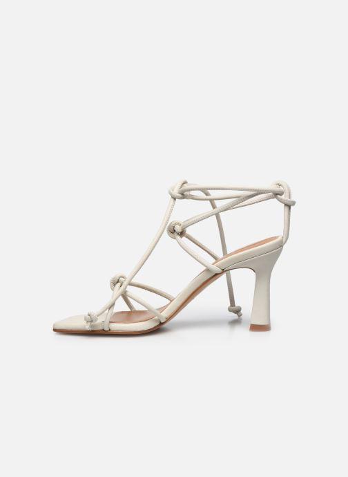 Sandali e scarpe aperte Flattered Rachel Bianco immagine frontale