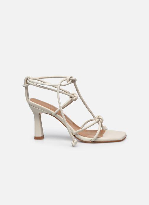 Sandali e scarpe aperte Flattered Rachel Bianco immagine posteriore