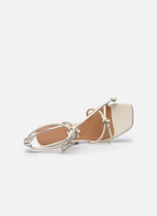 Sandali e scarpe aperte Flattered Rachel Bianco immagine sinistra