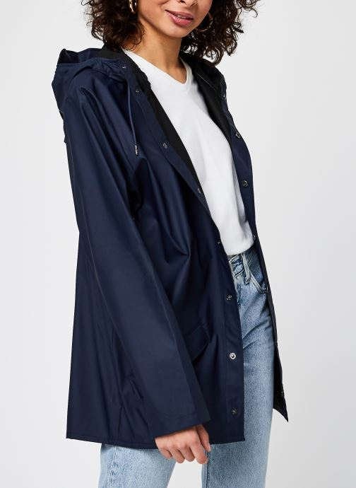 Kleding Rains  Jacket F Blauw detail