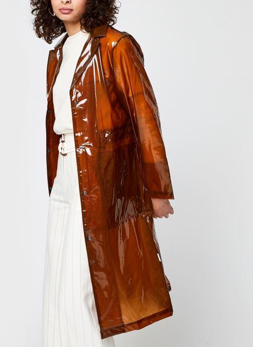 Kleding Accessoires Transparent String Overcoat F