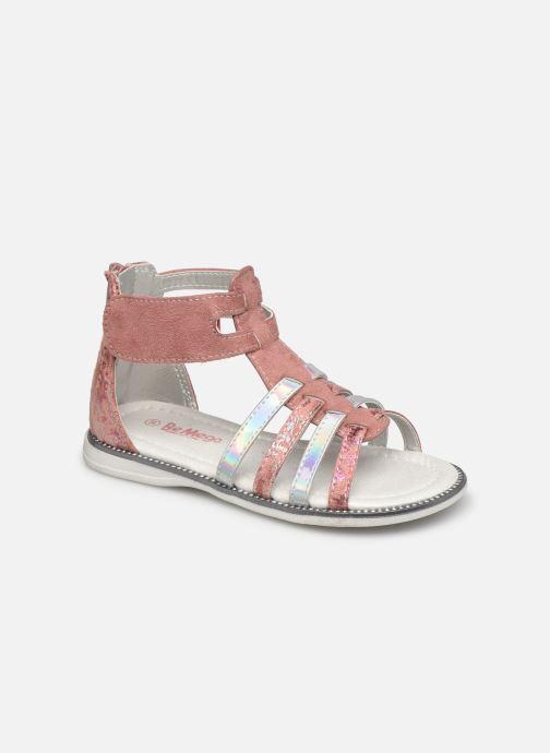 Sandales et nu-pieds I Love Shoes SUPINE Rose vue détail/paire